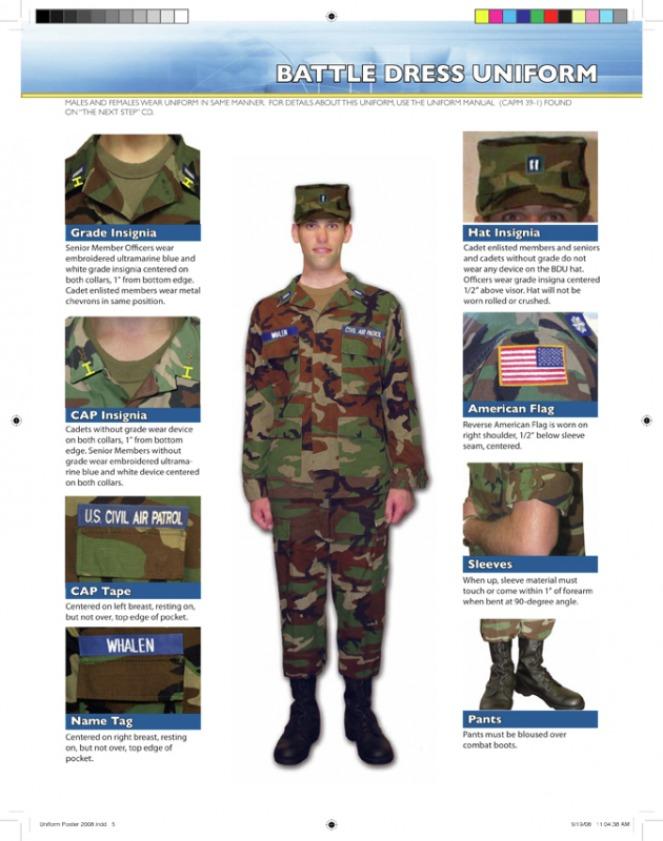Civil Air Patrol Class A Uniform 96
